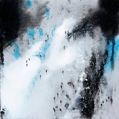 Wall Art - Painting - Across The Divide by Neil McBride
