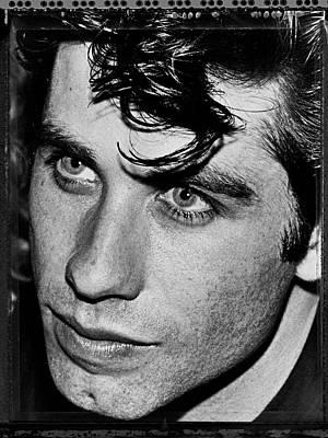 Photograph - Actor John Travolta Portrait Session by George Rose
