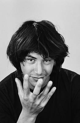 Photograph - Actor Keanu Reeves Portrait Session by George Rose