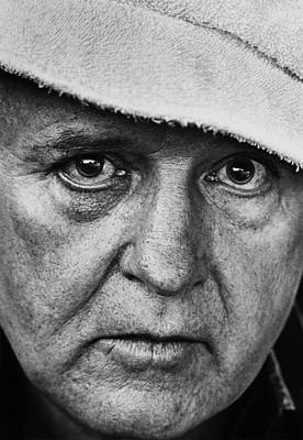 Photograph - Actor Rod Steiger Portrait Session by George Rose