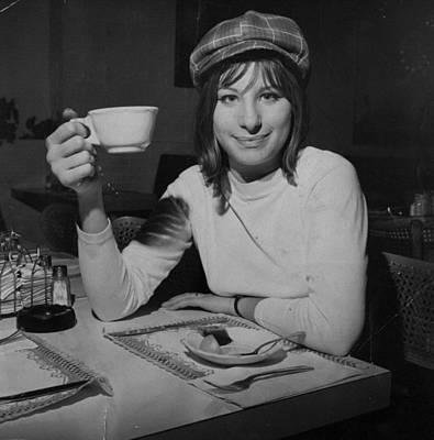 New York City Photograph - Actress And Singer Barbra Streisand by New York Daily News Archive