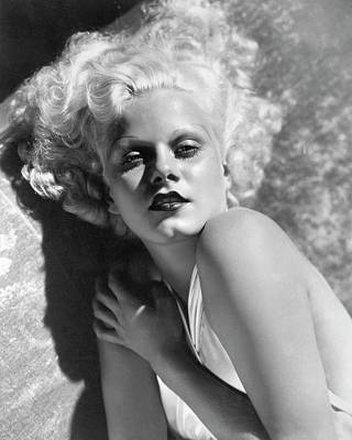 Photograph - Actress Jean Harlow In Seductive Pose by Bettmann