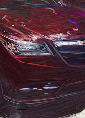 Sports Royalty-Free and Rights-Managed Images - Acura Mdx  22970 by CarsToon Concept