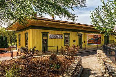 Photograph - Adairsville Depot by Nick Zelinsky