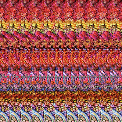 Digital Art - Adenovirus Autostereogram Qualias Gut 1 by Russell Kightley