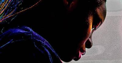 Digital Art - Adeola Oladimeji by Jerald Blackstock