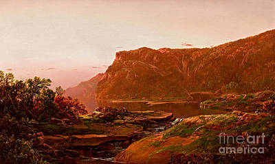 Painting - Adirondack View by William Sonntag