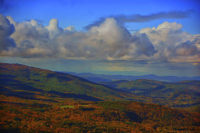Photograph - Adirondacks From Mount Greylock  by Raymond Salani III