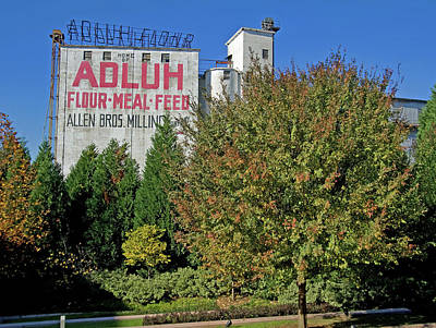 Photograph - Adluh Flour 2010 Color 17 by Joseph C Hinson Photography