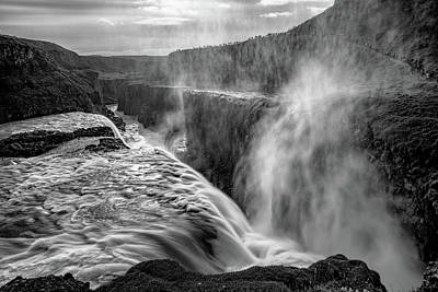 Royalty-Free and Rights-Managed Images - Admiring Gullfoss by Darren White