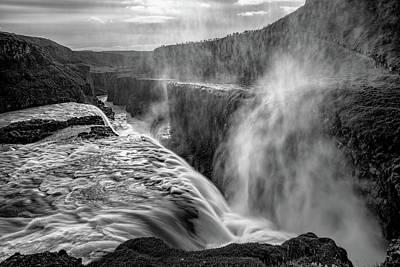 Photograph - Admiring Gullfoss by Darren White