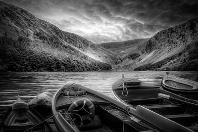 Photograph - Admiring The Beauty In Black And White by Debra and Dave Vanderlaan