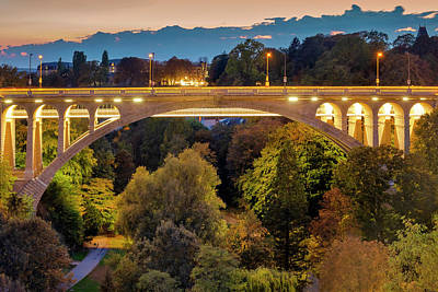 Photograph - Adolphe Bridge by Fabrizio Troiani