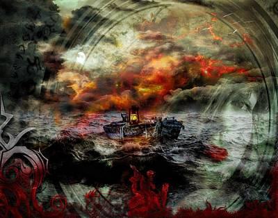 Digital Art - Adrift by Michael Damiani