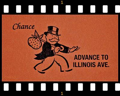 Photograph - Advance To Illinois Ave Film  by Rob Hans