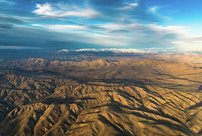 Photograph - Aerial Idaho by Michael Balen