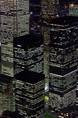 Photograph - Aerial View From Cn Tower At Dusk Of by Chris Cheadle