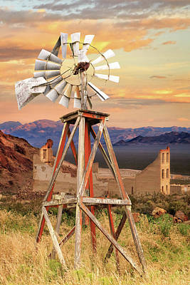Photograph - Aermotor Windmill by James Eddy