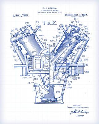 Digital Art - Aeronautical Motor by Gary Grayson
