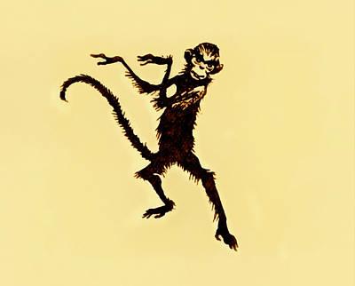Claude Monet - Aesops Monkey by Steve Taylor