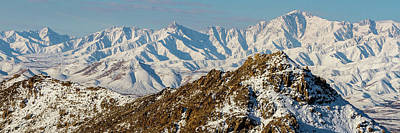 Photograph - Afghanistan Hindu Kush Snowy Peaks by SR Green