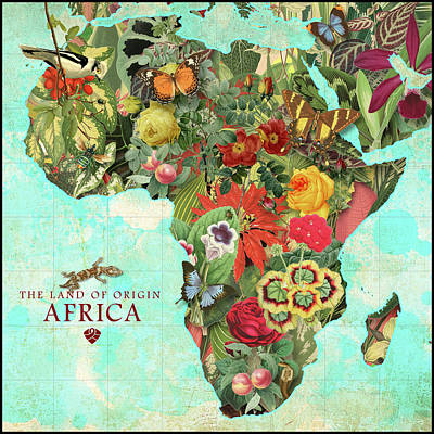 Digital Art - Africa by Gary Grayson