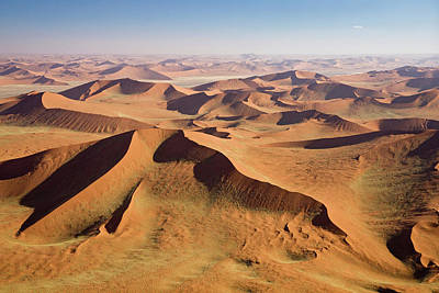 Photograph - Africa, Namibia, Namib Desert, Aerial by Westend61