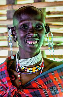Amy Weiss - African Maasai Teacher 4256 by Amyn Nasser Photographer - Neptune