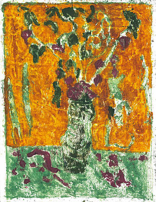 Painting - After Billy Childish Painting Otd 1 by Artist Dot