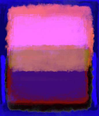 Digital Art - After Rothko 2 by Gary Grayson