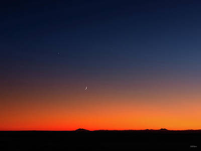 Photograph - After Sunset by Leland D Howard