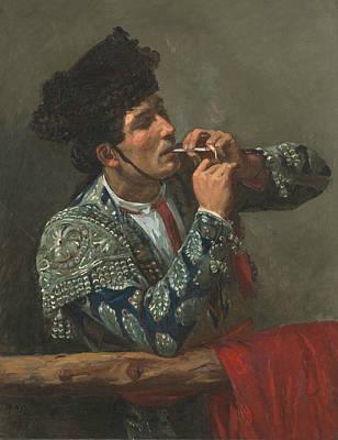 Painting - After The Bullfight by Mary Cassatt