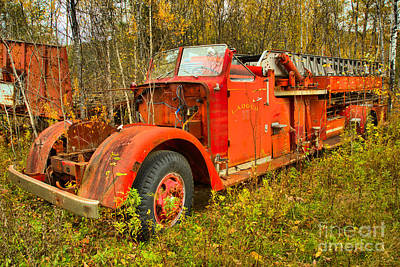 Photograph - After The Last Fire In Vermont by Adam Jewell