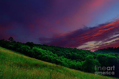 Photograph - After The Storm Afterglow by Thomas R Fletcher