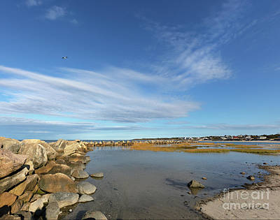 Photograph - Afternoon At Corporation Beach by Michelle Constantine