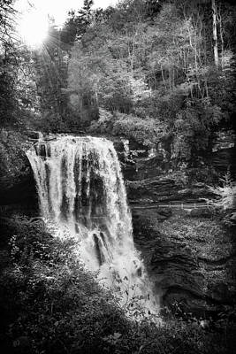 Photograph - Afternoon At Dry Falls In Black And White by Chrystal Mimbs