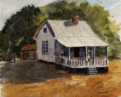 Painting - Afternoon At Grandma's by Barry Jones