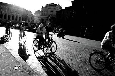 Photograph - Afternoon Commute by Images Unlimited