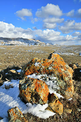 Photograph - Afternoon In Winter At Book Cliffs by Ray Mathis