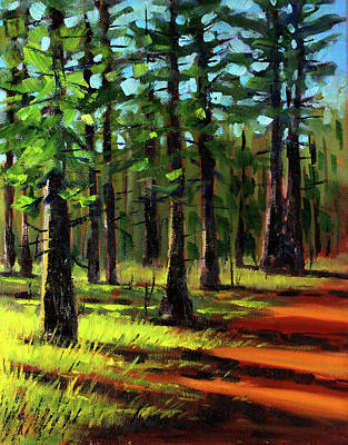Painting - Afternoon Light by Nancy Merkle
