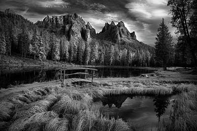 Photograph - Afternoon Splendor In The Dolomites by Jon Glaser