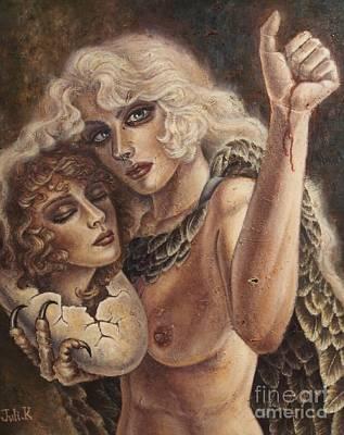 Fantasy Painting - Agape by Julie Kitamura