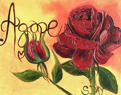 Agape Love Art Print