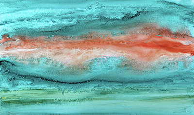 Agate Shore 2 Art Print