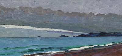Painting - Agawa Headland by Phil Chadwick
