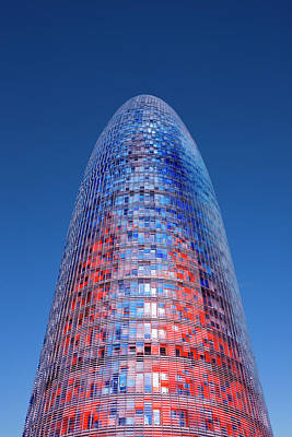 Photograph - Agbar Tower In Barcelona by Visions Of Our Land