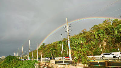 Photograph - Aguadilla Rainbow by Charles Quiles