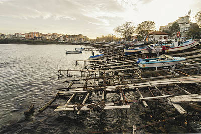Photograph - Ahtopol Fishing Town by Milan Ljubisavljevic