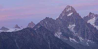 Tour Du Mont Blanc Wall Art - Photograph - Aiguille Du Chardonnet by Stephen Taylor