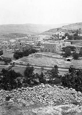 Photograph - Ain Karem 1887 by Munir Alawi
